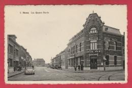 Hornu - Les Quatre Pavès .... Café ... Pub Bières Celta Pils .... VW Cox ( Voir Verso ) - Boussu