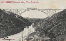 Viaduc Du Viaur (Tarn-Aveyron) - Train Sur Le Pont De Tanus - Edition E. Carièrre - Carte Précurseur N°157 - Ouvrages D'Art