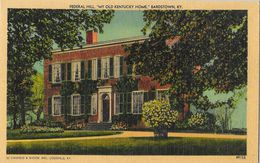 Federal Hill - My Old Kentuky Home - Bardstown, KY - Edition Caufield & Shook - Carte Non Circulée - Etats-Unis