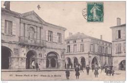 82) Dunes.- (Tarn Et Garonne)  Place De La Mairie  - (belle Animation) - Non Classés