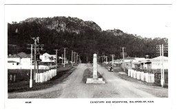 Australia, NSW, Hunter Mid-north Coast, Bulahdelah, Meade Street, Cenotaph War Memorial, Homes, Photo Postcard - Australië