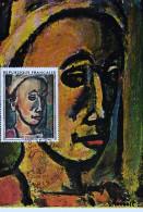 JOURNEE DU TIMBRE ROUAULT  1971 - Maximumkarten