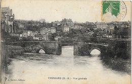 Thouars (Deux-Sèvres) - Vue Générale - Vieux Pont - Edition A. Ganne - Thouars