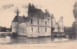G , Cp , 89 , FLEURIGNY , Le Château, Vue Extérieure Côté N.-E. - Autres Communes