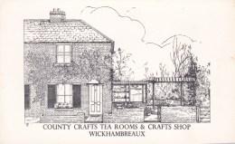 WICKHAMBREAUX -COUNTY CRAFT TEA ROOMS - England
