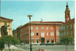 Cilavegna (Pavia, Lombardia) Piazza Garibaldi, Garibaldi Square, Place Garibaldi, Automobili E Ape, Cars - Pavia