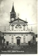 Trivolzio (Pavia, Lombardia) Chiesa Parrocchiale, Facciata E Sagrato, Eglise, Church, Kirche - Pavia