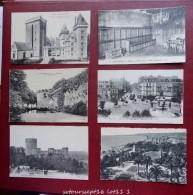FRANCE - Lot De 100 Cartes: CPA Et CPSM Petit Format  N&B Et Couleurs-  Voir Toutes Les Cartes - Cartes Postales