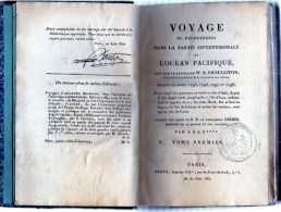 Voyage De Découvertes Dans La Partie Septemtrionale De L´océan Pacifique Fait Par Le Capitaine W.R. BROUGHTON - Livres, BD, Revues