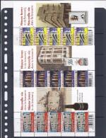 Belgie -Belgique 4061/63 Velletje Van 5 Postfris - Feuillet De 5 Timbres Neufs  -  Nieuw Leven In De Brouwerij - Feuilles Complètes