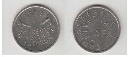 5 FRS  1975 - Suisse