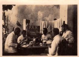 Photo Originale Guerre 39-45 - F.A.K Fédération Des Organisations Culturelles Afrikaans (1940) à Coussay 86110 - Vienne - Guerre, Militaire