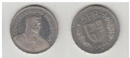 5 FRS  1994 B - Suisse