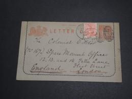 AUSTRALIE / NEW SOUTH WALES - Entier Postal De Sydney Pour Londres En 1900 - A Voir - L 2957 - Briefe U. Dokumente