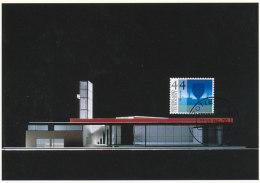 D25790 CARTE MAXIMUM CARD FD 2006 NETHERLANDS - MUSEUM KUNSTHAL ROTTERDAM CP ORIGINAL - Architecture