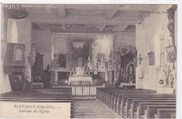 Côte-d'Or - Pluvault - Intérieur De L'église - Frankrijk