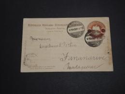 MEXIQUE - Entier Postal De Tampico Pour Madagascar En 1905 , Destination Rare - A Voir - L 2963 - Mexico