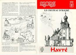 Mons - Havré Le Château D'Havré Livret De 8 Pages - Old Paper