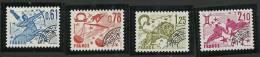"""Préo YT 154 à 157 """" Les Signes Du Zodiaque """" 1978 Neuf **"""