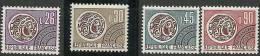 """Préo YT 130 à 133 """" Type Monnaie Gauloise """" 1971 Neuf **"""