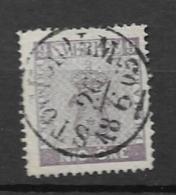 1858 USED Sweden, Mi No 8 - Usati