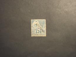 REUNION - 1881 ALLEGORIA 15 C. - NUOVO(+)