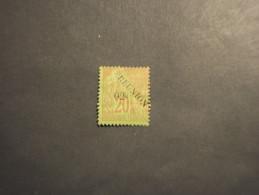 REUNION - 1891 ALLEGORIA 2 C.su 20 (pieghetta)- NUOVO(+)