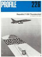 AERONAUTICA AIRCRAFT Publications Profile 226 - Republic F-105 Thunderchief DVD - DOWNLOAD - Italia