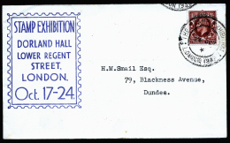 A4247) UK Cover From Stamp Expo London 1936 With Special Cancellation - 1902-1951 (Kings)