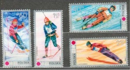 POLONIA 1972 - OLYMPICS SAPPORO 72 - YVERT Nº 1989-1992