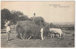 Nos Campagnes - Rentrée Des Foins - MTIL 2566 - Attelage De Boeufs - Cultivation