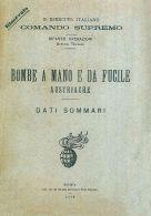 BOMBA MINA AMMUNITION WEAPON  Bombe Mano Fucile Austriache 1916 Descrizione DVD - DOWNLOAD - Documenti