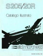 AERONAUTICA AIRCRAFT Siai Marchetti S205 20R 1979 (MTS205204) Nomenclatore DVD - DOWNLOAD - Aviazione