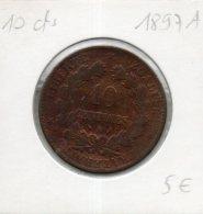 France. 10 Centimes Ceres 1897A - D. 10 Centimes