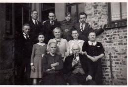 Photo Originale Belgique - Armand Fery - Monceau-sur-Sambre - Rédacteur Des T.T. Comptabilité Des Téléphones - Charleroi - Personnes Identifiées