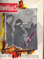 PAUL RICARD -   MARSEILLE- PARIS- BORDEAUX - LIVRE RELIE LES NOUVELLES N° 347- 1961 - Biographie