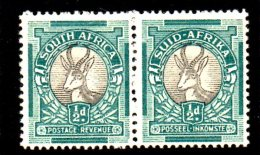 T663 - SUD AFRICA , 1/2 D Coppia */* - Sud Africa (...-1961)