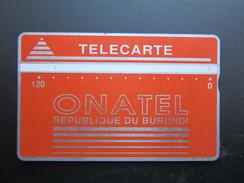 L&Gyr Phonecard,001B,used - Burundi