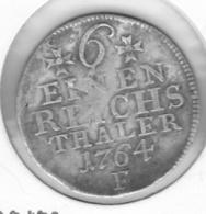 1/6 Reichstaler Friedrich II 1764 - Taler En Doppeltaler