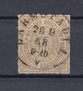 """NDP Norddeutscher Postbezirk 18 Kr. Michel 11 1868 - """"Darmstadt""""  1 Kreis - Norddeutscher Postbezirk"""