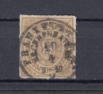 """NDP Norddeutscher Postbezirk 18 Kr. Michel 11 1868 - """"Frankfurt Sachsenhausen""""  1 Kreis - Norddeutscher Postbezirk"""