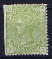 Great Britain SG153. 4d Sage-green (Plate 15). Superb MH/* Example Mi Nr 48  Cat Value UKP 1400 - 1840-1901 (Viktoria)