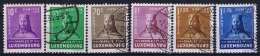 Luxembourg: 1935 Mii Nr 284 - 289 , Yv 276 - 281 Used Obl  10 C = MH/* - Luxembourg