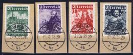 Austria: Mi Nr 557 - 562 Gestempelt/used/obl. 1933