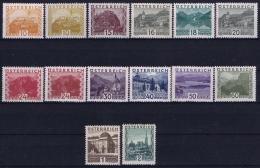 Austria: Mi Nr 498 - 511 MH/* Falz/ Charniere  1929