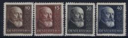 Austria: Mi Nr 494 - 497 1928  MNH/**/postfrisch/neuf Sans Charniere
