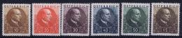 Austria: Mi Nr  512 - 517 1930  MNH/**/postfrisch/neuf Sans Charniere - 1918-1945 1. Republik