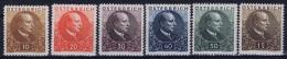 Austria: Mi Nr  512 - 517 1930  MH/* Falz/ Charniere