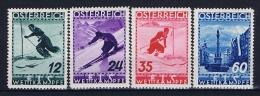 Austria: Mi Nr  623 - 626    1936   MH/* Falz/ Charniere   FIS