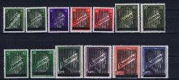 Austria: Mi Nr  668 - 673  + Va - Vd   1945   MH/* Falz/ Charniere   Signed/ Signé/signiert/ Approvato Dr. Dub